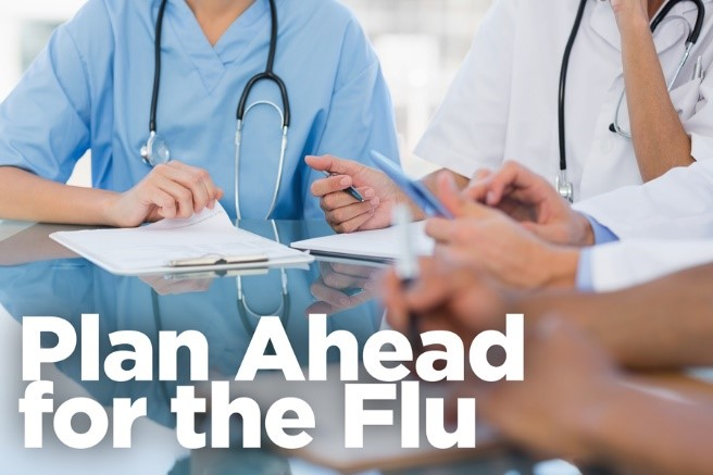 Plan ahead for the upcoming flu season
